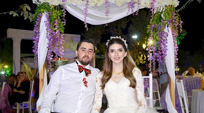 Talha ve Merve Muhteşem düğün ile evlendiler