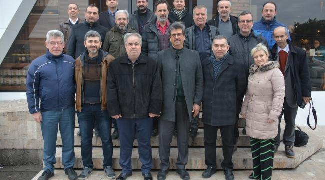 Eğitim Bir- Sen yönetimi basın mensupları ile bir araya geldi