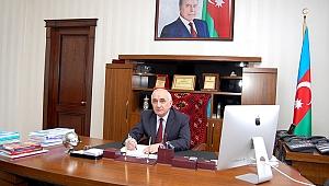 SDÜ Rektörü Elkhan Huseynov'un Başarıları