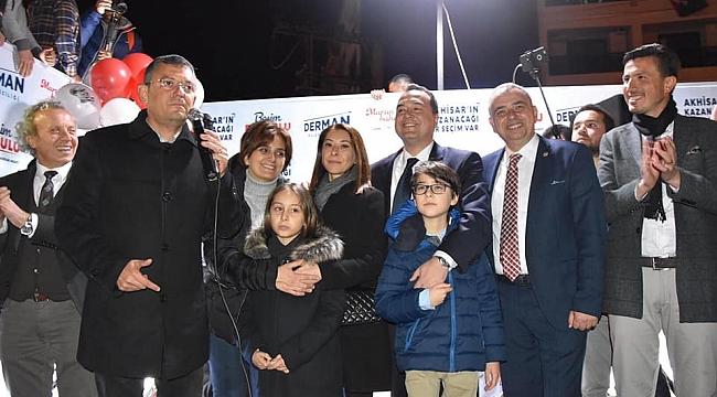 Akhisar'da millet ittifakı adayı Besim Dutlulu kazandı