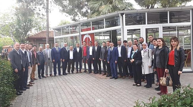 Manisa Eğitim Bir Sen Şube Başkanın'dan Akhisar'a ziyaret