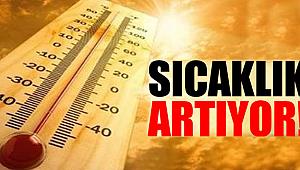 Akhisar 'da Hava sıcaklıkları artıyor