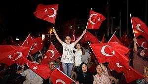 Akhisar'da 15 Temmuz Demokrasi ve Milli Birlik Günü programı yapıldı