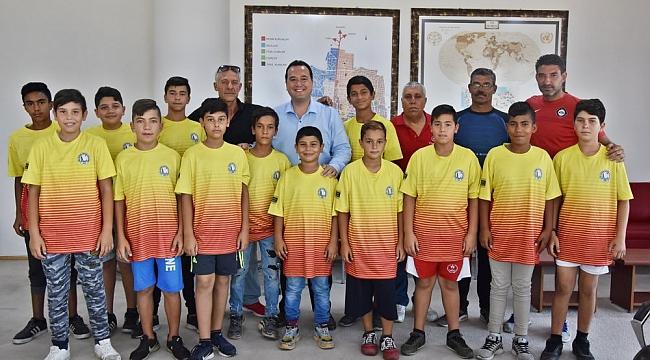 Çağlayan Spor Kulübü'nden Başkan Dutlulu'ya teşekkür