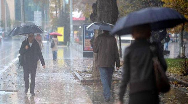 Serin ve yağışlı havanın etkisine giriyoruz