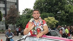 Akhisar 'lı Milli güreşçi Feyzullah Aktürk dünya üçüncüsü