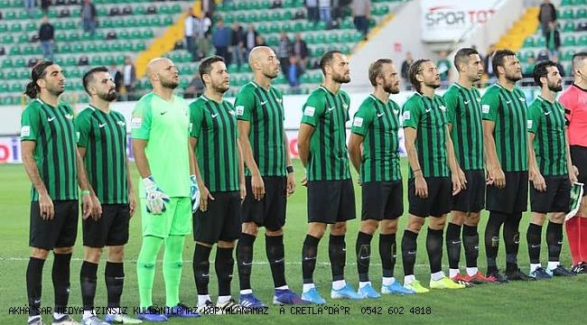 Akhisarspor, son maçlarda gaza bastı