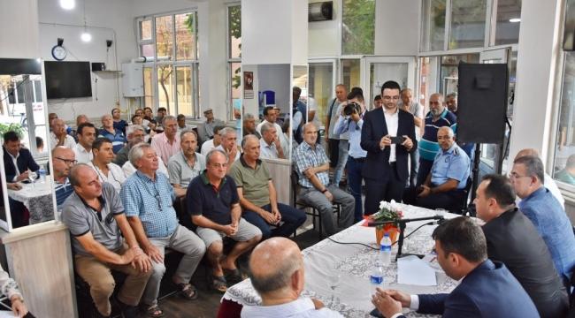 Başkan Dutlulu, halk buluşmalarına devam ediyor
