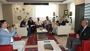 Başkan Ergün Akhisar OSB Yönetimini Ağırladı