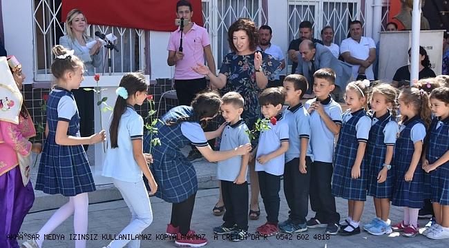 İlköğretim Haftası Mehmet Akif Ersoy İlkokulu'nda kutlandı