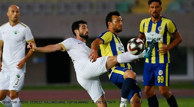 Akhisarspor son 3 maçta patlama yaptı