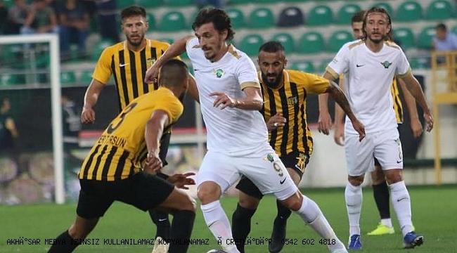 Akhisarspor'un kayıp golcüsü Ergin Keleş