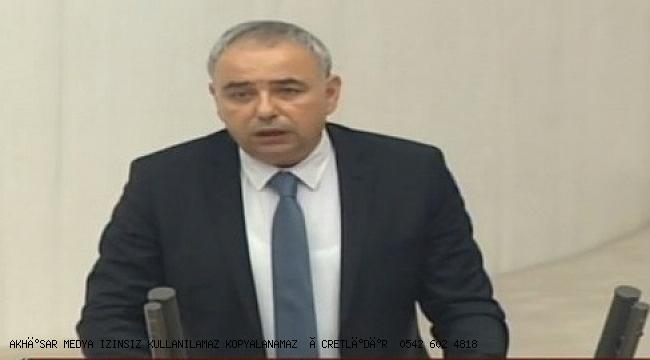Bakırlıoğlu, Mecliste haklarını alamayan madencileri konuştu