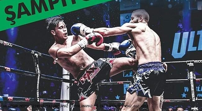 Muay Thai Şampiyonası Akhisar'da