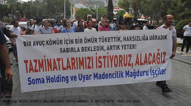 Somalı madenciler Ankara'ya yürüme kararı aldı