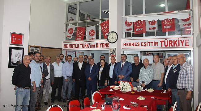 Türk Yerel Hizmet Sen'den Akhisar MHP ye Ziyaret