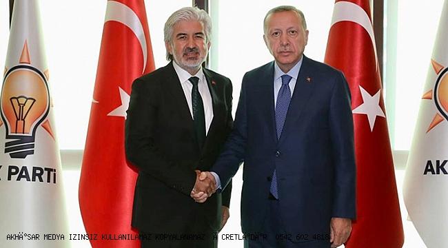 AK Parti Manisa İl Başkanlığı Salih Hızlı' ya emanet