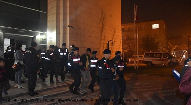 Akhisar'da Organize Suç Örgütü Çökertildi.