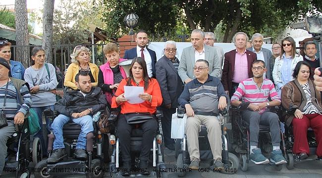 Akhisar KentKonseyi Engelli Meclisinden Kınama