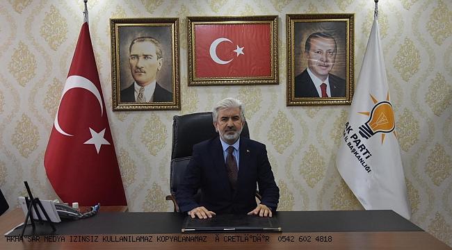 AK Parti İl Başkanı Hızlı'dan 3 Aralık Dünya Engelliler Günü Mesajı