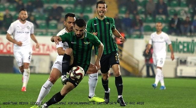 Akhisarspor, ara transfer döneminde 3-4 takviye yapmayı planlıyor.