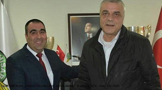 Akhisarspor'da Hüseyin Eryüksel başkanlığı devretti!