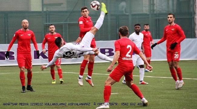 Akhisarspor İlk yarının son maçında Keçiörengücü'ne mağlup oldu 1-0
