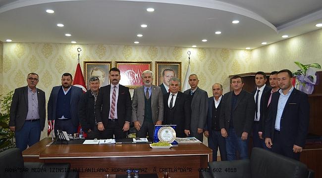 Başkan AKBUĞA dan Ak Parti İl Başkanı Hızlıya Ziyaret