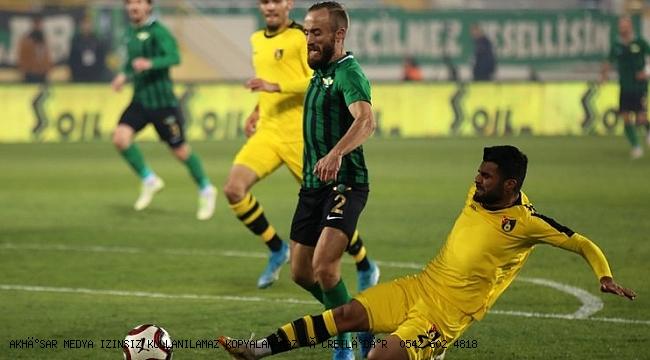 Müthiş mücadelede kazanan Akhisarspor 4-3