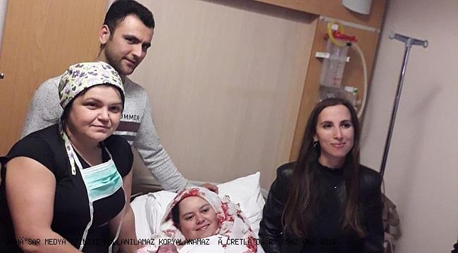 Akhisar'da 2020 yılının ilk bebeği