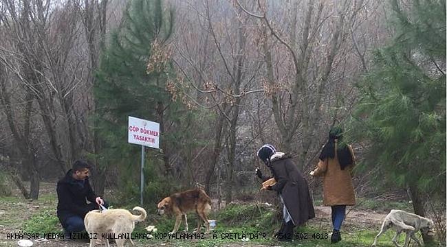 Akhisar Ülkü Ocakları Ormandaki dostlar aç kalmasın