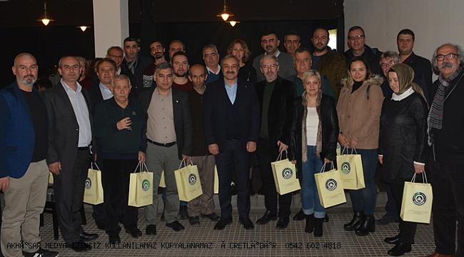 ATSO, 10 Ocak Çalışan Gazeteciler gününü kutladı