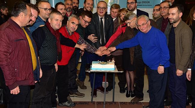 Başkan Ergün Gazetecilerin Gününü Kutladı