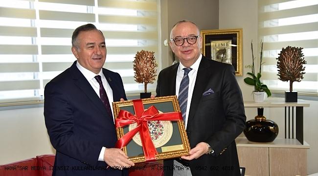 Başkan Ergün, Grup Başkanvekili Erkan Akçay'ı Ağırladı