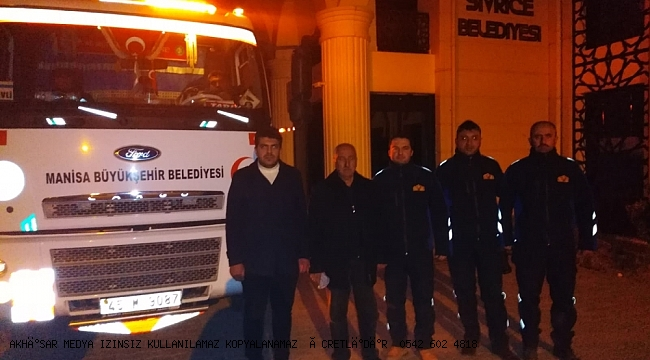 Büyükşehir'in Yardım TIR'ı Sivrice'ye Ulaştı