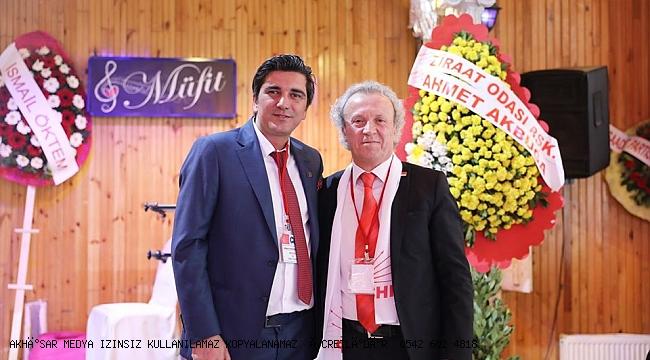 CHP Akhisar'da yeni başkan Umut  Çavuş