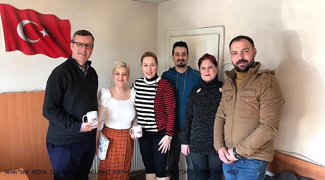 Pınar Güney  Akhisar Medya' nın Gazeteciler Gününü kutladı