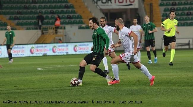 Akhisar Ligde 6 maçtır gol atamıyor