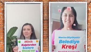 Büyükşehir'in Miniklerinden Manisalılara Mesaj Var