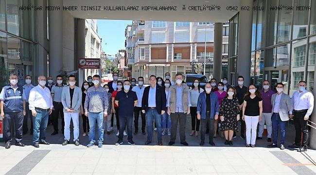 Akhisar Belediyesi, Koronavirüs Çalışmalarını Açıkladı