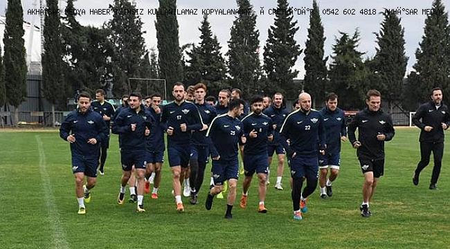 Akhisarspor'un planında değişiklik yok