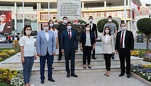 Belediye Başkanı Besim Dutlulu'dan 19 Mayıs turu