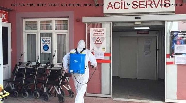 Saruhanlı Devlet Hastanesi'nde hasta kabulü durduruldu