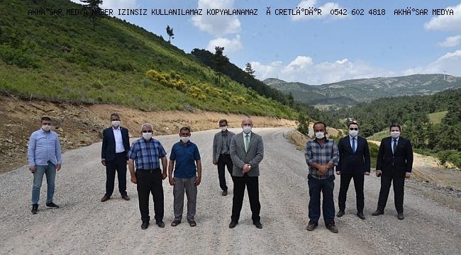 Akkocalı, Kurtulmuş, Kobaşdere ve Başlamış mahallelerinin yoğun olarak kullandığı 11 kilometrelik yolda asfalt çalışmaları için start verildi.