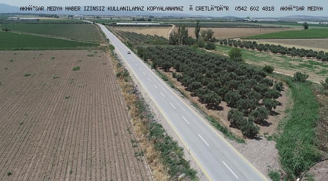 Akselendi, Sazoba, Beyoba, Moralılar, Rahmiye ve Hava Meydan Komutanlığı arasında bağlantıyı sağlayan 11 kilometrelik yolda beton yol uygulamasını tamamladı.