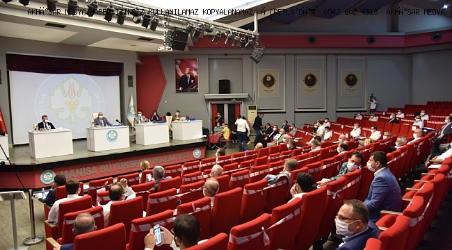 Büyükşehir'de Sosyal Mesafeli İlk Meclis