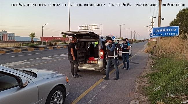 Huzur ve Güven Uygulaması'nda 13 şahıs gözaltına alındı