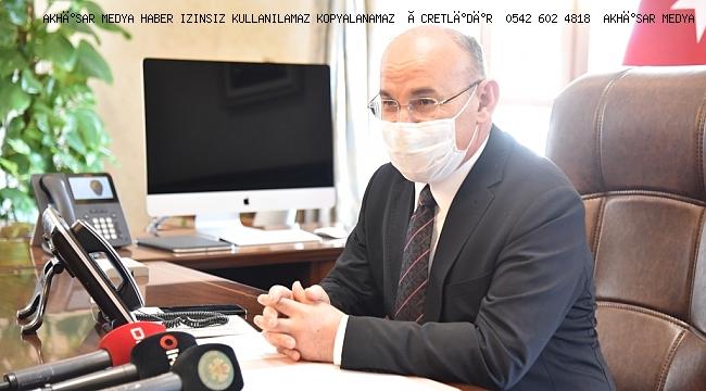 Manisa Valisi Yaşar Karadeniz Göreve Başladı