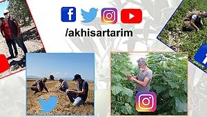İlçe Tarım Müdürlüğü Sosyal Medya aracılığıyla da Üreticileri Bilgilendiriyor.