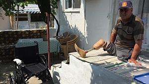 Lütfü Amca'nın Akülü Sandalyesi Büyükşehir'den